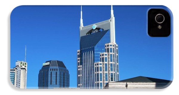 Batman Building And Nashville Skyline IPhone 4 / 4s Case by Dan Sproul