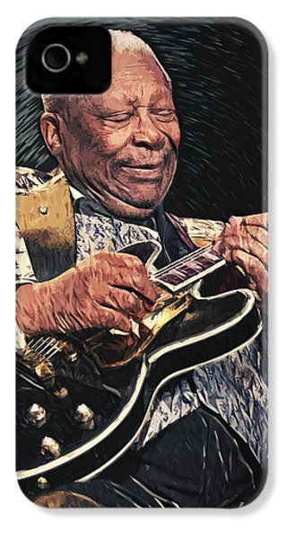 B.b. King II IPhone 4 / 4s Case by Taylan Apukovska