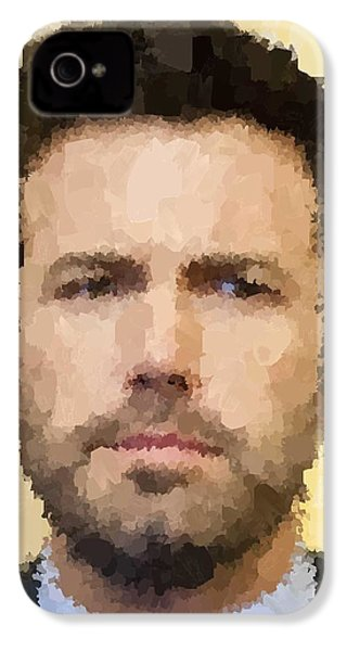 Ben Affleck Portrait IPhone 4 / 4s Case by Samuel Majcen