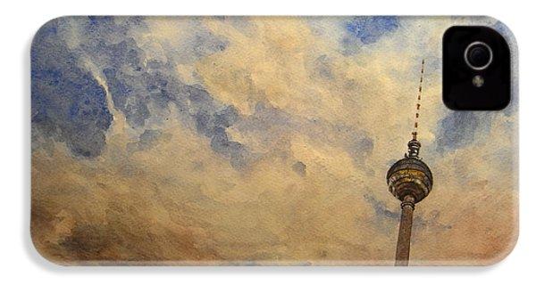Berliner Sky IPhone 4 / 4s Case by Juan  Bosco