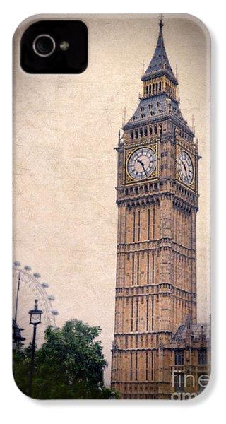 Big Ben In London IPhone 4 / 4s Case by Jill Battaglia