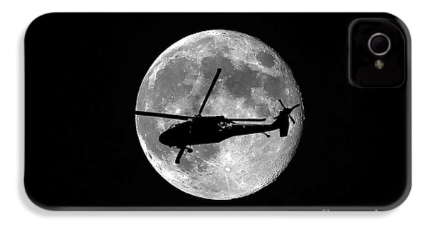 Black Hawk Moon IPhone 4 / 4s Case by Al Powell Photography USA