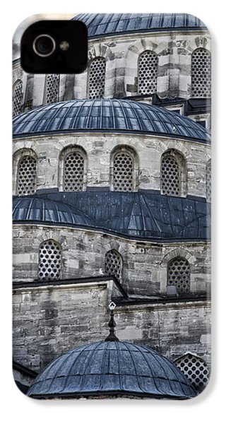 Blue Dawn Blue Mosque IPhone 4 / 4s Case by Joan Carroll