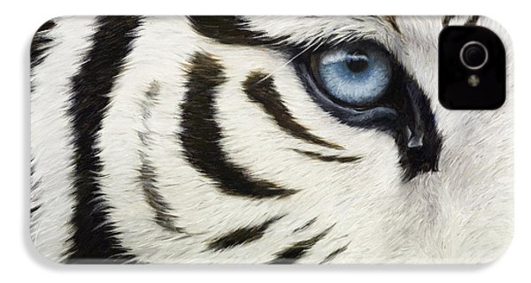 Blue Eye IPhone 4 / 4s Case by Lucie Bilodeau