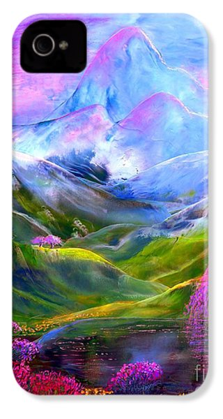 Blue Mountain Pool IPhone 4 / 4s Case by Jane Small