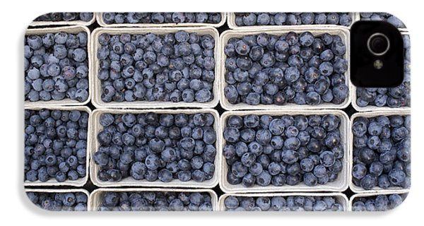 Blueberries IPhone 4 / 4s Case by Tim Gainey