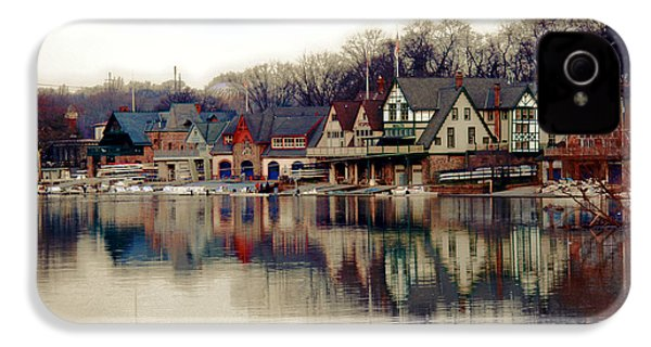Boathouse Row Philadelphia IPhone 4 / 4s Case by Tom Gari Gallery-Three-Photography