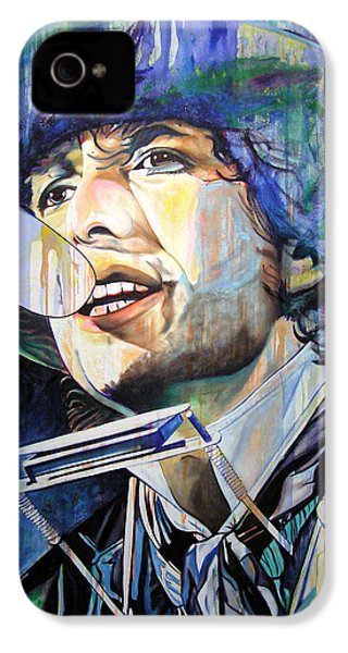 Bob Dylan Tangled Up In Blue IPhone 4 / 4s Case by Joshua Morton