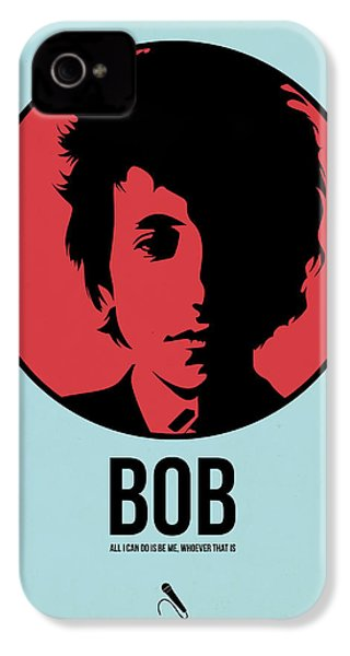 Bob Poster 2 IPhone 4 / 4s Case by Naxart Studio