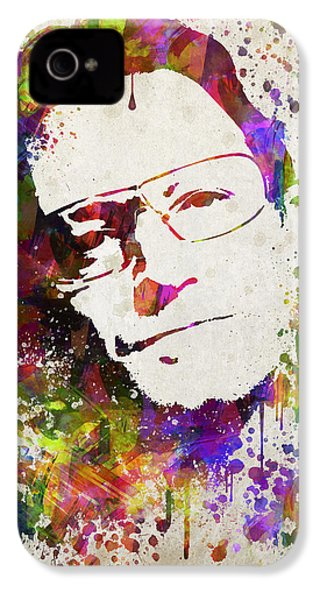 Bono In Color IPhone 4 / 4s Case by Aged Pixel