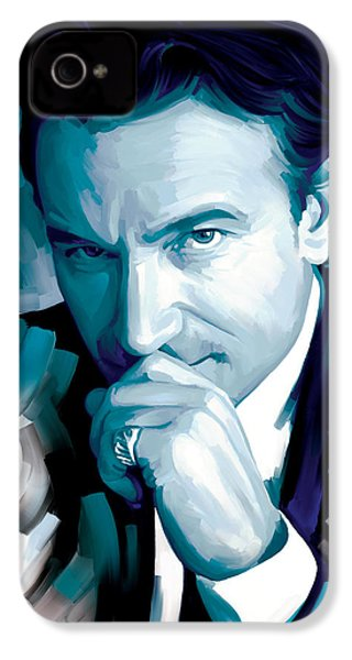 Bono U2 Artwork 4 IPhone 4 / 4s Case by Sheraz A