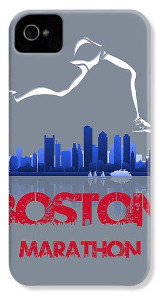 Boston Marathon3 IPhone 4 / 4s Case by Joe Hamilton