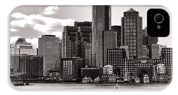 Boston IPhone 4 / 4s Case by Olivier Le Queinec