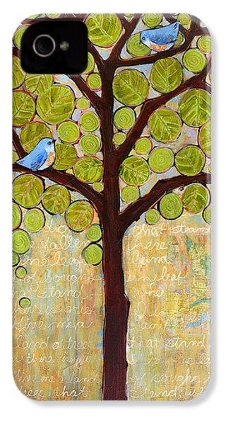 Boughs In Leaf Tree IPhone 4 / 4s Case by Blenda Studio