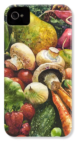 Bountiful IPhone 4 / 4s Case by Anne Gifford