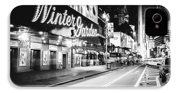 Broadway Theater - Night - New York City IPhone 4 / 4s Case by Vivienne Gucwa