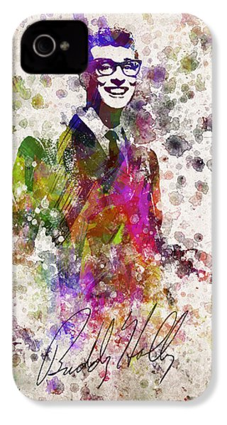 Buddy Holly In Color IPhone 4 / 4s Case by Aged Pixel