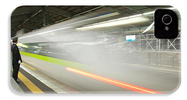 Bullet Train IPhone 4 / 4s Case by Sebastian Musial