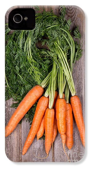 Bunched Carrots IPhone 4 / 4s Case by Jane Rix