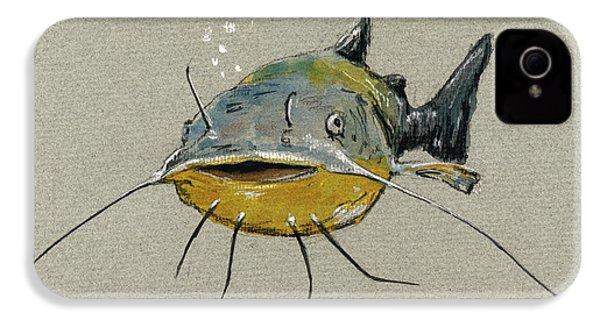 Catfish IPhone 4 / 4s Case by Juan  Bosco