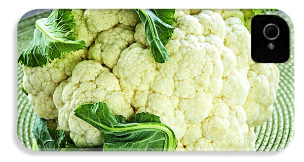Cauliflower IPhone 4 / 4s Case by Elena Elisseeva