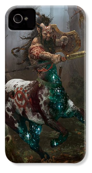 Centaur Token IPhone 4 / 4s Case by Ryan Barger