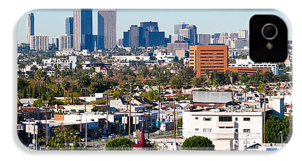 Century City, Beverly Hills, Wilshire IPhone 4 / 4s Case by Panoramic Images