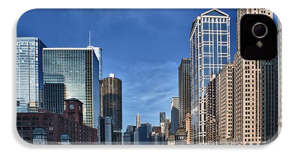 Chicago River IPhone 4 / 4s Case by Sebastian Musial