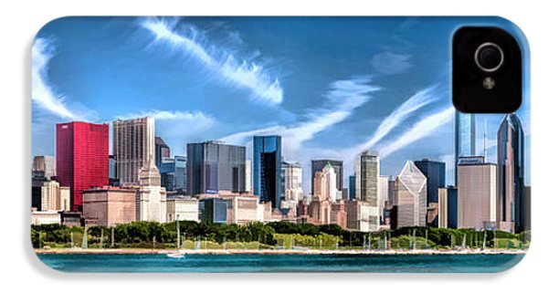 Chicago Skyline Panorama IPhone 4 / 4s Case by Christopher Arndt