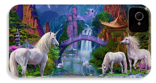 Chinese Unicorns IPhone 4 / 4s Case by Jan Patrik Krasny