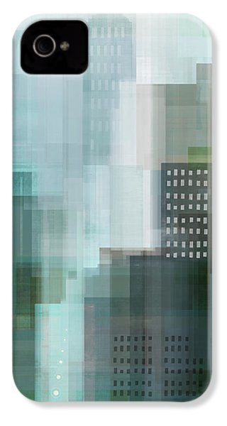 City Emerald IPhone 4 / 4s Case by Dan Meneely