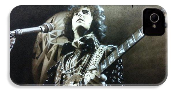 Eric Clapton - ' Clapton ' IPhone 4 / 4s Case by Christian Chapman Art