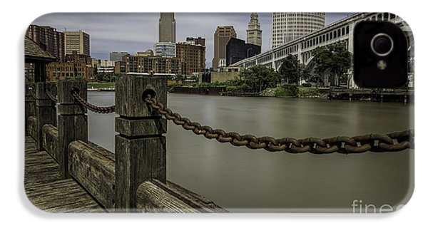 Cleveland Ohio IPhone 4 / 4s Case by James Dean