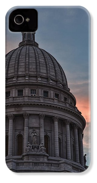 Clouds Over Democracy IPhone 4 / 4s Case by Sebastian Musial