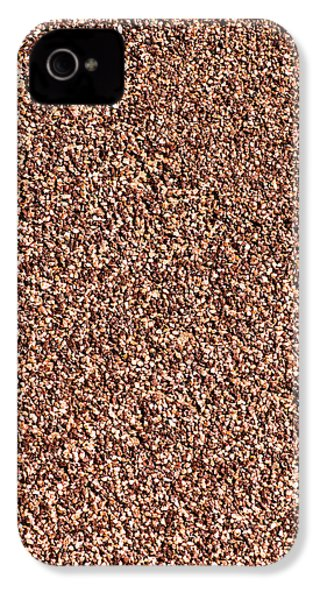 Coarse Grained Texture IPhone 4 / 4s Case by Alexander Senin