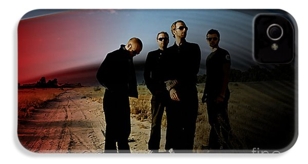 Coldplay IPhone 4 / 4s Case by Marvin Blaine
