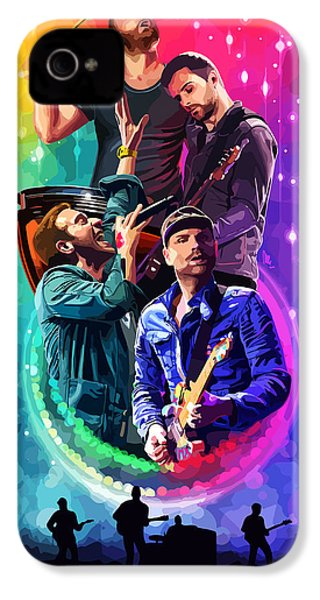 Coldplay Mylo Xyloto IPhone 4 / 4s Case by FHT Designs