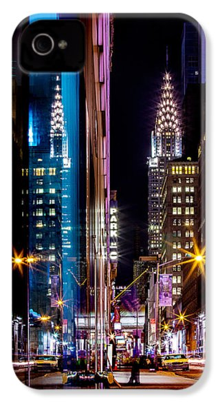 Color Of Manhattan IPhone 4 / 4s Case by Az Jackson