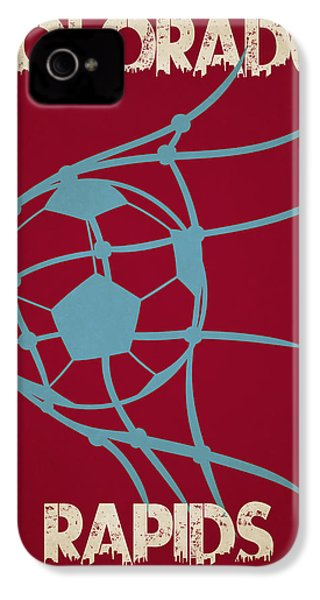 Colorado Rapids Goal IPhone 4 / 4s Case by Joe Hamilton