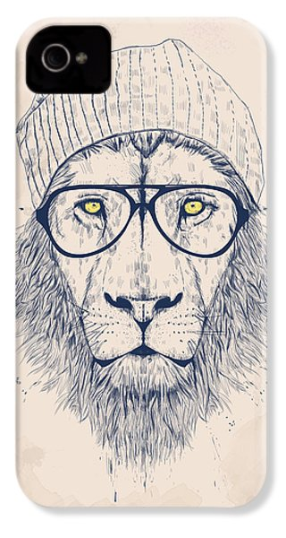 Cool Lion IPhone 4 / 4s Case by Balazs Solti
