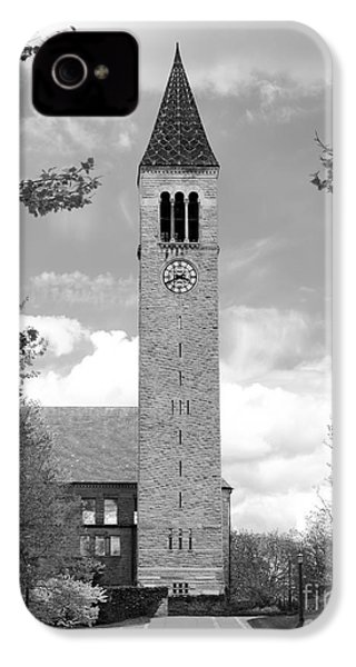 Cornell University Mc Graw Tower IPhone 4 / 4s Case by University Icons