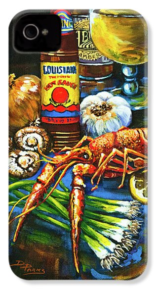 Crawfish Fixin's IPhone 4 / 4s Case by Dianne Parks