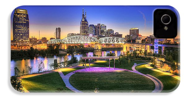 Cumberland Park And Nashville Skyline IPhone 4 / 4s Case by Lucas Foley