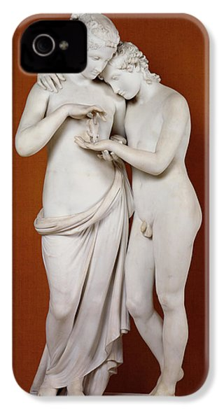 Cupid And Psyche IPhone 4 / 4s Case by Antonio Canova