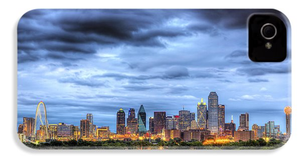 Dallas Skyline IPhone 4 / 4s Case by Shawn Everhart