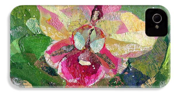Dancing Orchid I IPhone 4 / 4s Case by Shadia Derbyshire