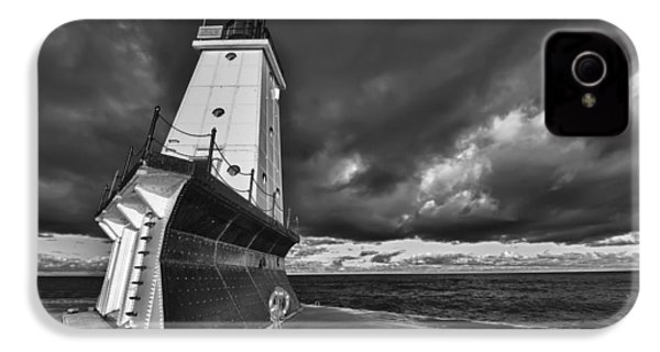 Dark Clouds Black And White IPhone 4 / 4s Case by Sebastian Musial
