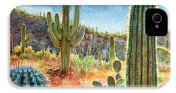 Desert Beauty IPhone 4 / 4s Case by Frank Robert Dixon