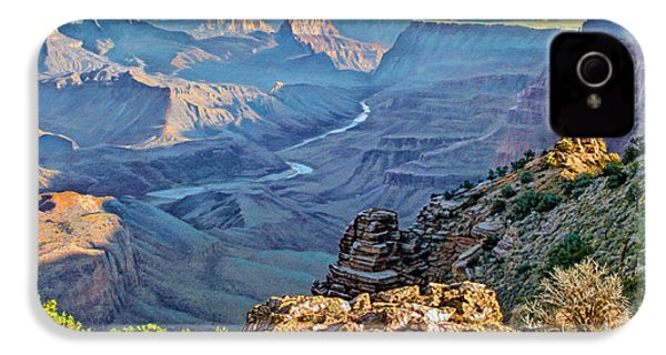 Desert View-morning IPhone 4 / 4s Case by Paul Krapf