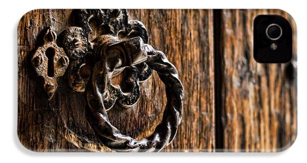 Door Knocker IPhone 4 / 4s Case by Heather Applegate